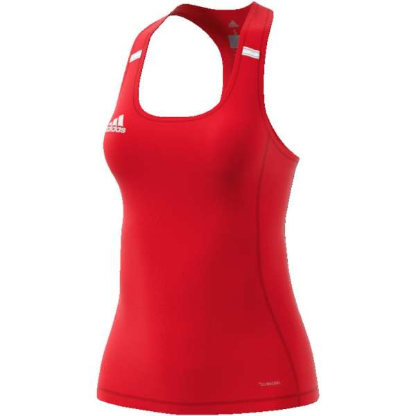 adidas Team 19 Women Tank Top - rot